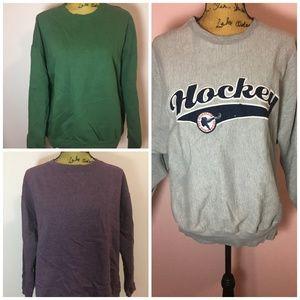 crew sweatshirts bundle